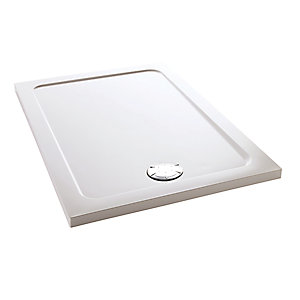 Mira Flight Safe Low Profile Rectangle Shower Tray 1000 x 800 mm