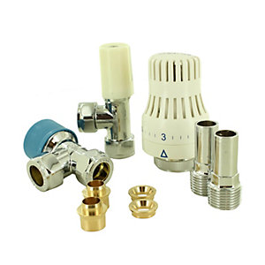 Salus TRV31LS5 Thermostatic Radiator Valve Comes with Lockshield & Reducer