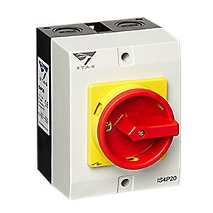 Stag IS4P20 20A 4POLE Rotary Switch