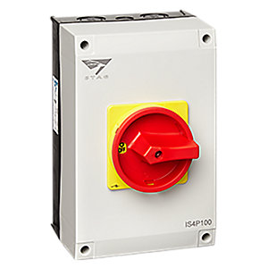 Stag IS4P100 100A 4POLE Rotary Switch