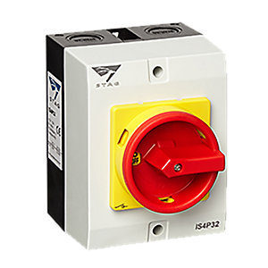 Stag IS4P32 32A 4POLE Rotary Switch