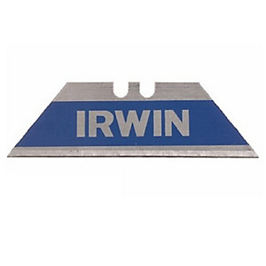 Irwin Bi-Metal Blue Trapezoid Knife Blades (Pack of 100)