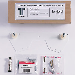 Twyford TI1967 x X Total Installation Sanitaryware Fixing Kit