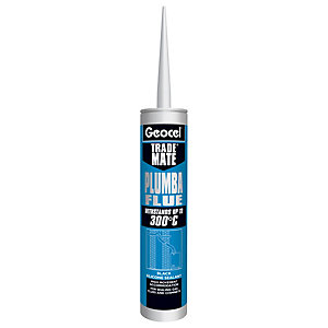 Geocel Trade Mate Plumber Flue Black Silicone Sealant 310ml