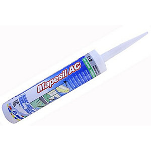 Mapesil AC 100 White Silicone Sealant 310ml