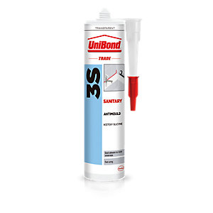 UniBond 3S Sanitary Sealant Clear