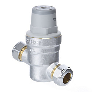 Altecnic 533 15 mm Pressure Reducing Valve + Gauge Port 533741H