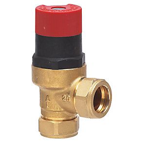 Honeywell Home Compression Bypass Valve 22mm