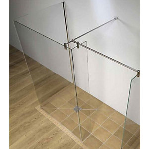 Kudos Ultimate2 10 mm Shower Panel Wall Post Kit Square 10WPK