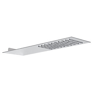 Abode AB2427 Storm Slimline Wall Mounted Shower Head Square Edged