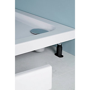 iflo Shower Tray 1200 mm Offset Quad Panel and Leg Pack