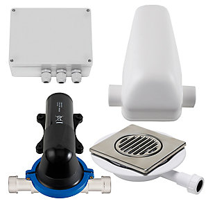 Stuart Turner 46597 Wasteflo Shower Waste Pump & Tiled Floor Gully