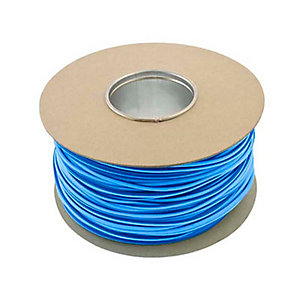 Unicrimp QES3BL 100m x 3mm Earth Sleeving - Blue