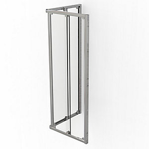 Kudos Original Square Sliding Door Shower Enclosure 800 x 800 mm 3CS80S
