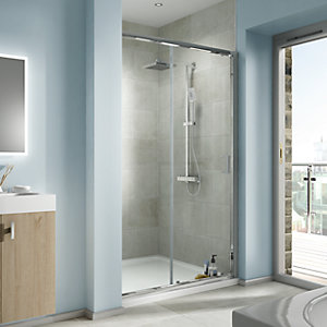 iflo Edessa Sliding Shower Enclosure Door 1700mm