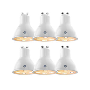 Hive Light Dimmable Smart GU10 Bulb x 6 Pack