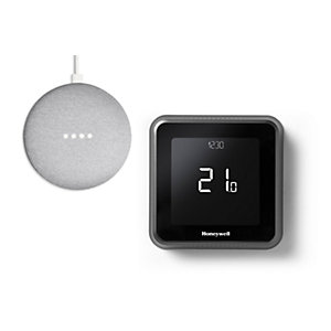 Honeywell Home T6 Smart Thermostat & Free Google Mini