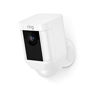 Ring Spotlight Cam Smart Security Camera - White