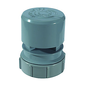 McAlpine Ventapipe 15 Air Admittance Valve with 1inCH Universal Outlet VP15m