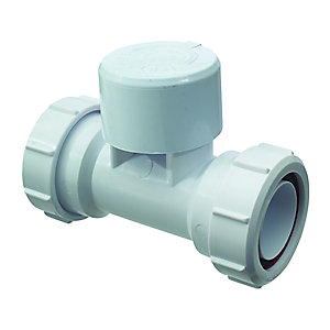 McAlpine Ventapipe 25 Air Admittance Valve with Integral 1.5in Multifit Tee VP3