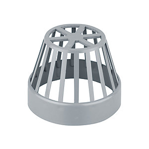 Wavin OsmaSoil System Balloon Grating Grey 110mm 4S302G