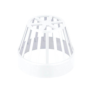 Wavin OsmaSoil System Balloon Grating White 110mm 4S302W