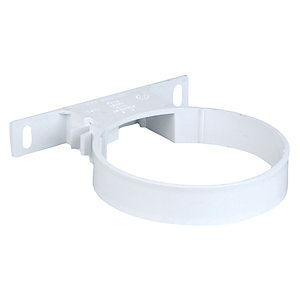 Wavin OsmaSoil System Pipe Bracket White 110mm 4S082W