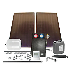 Grant GSSKIT17 Solar 2 Panel Bronze in       Roof Kit (Slate)