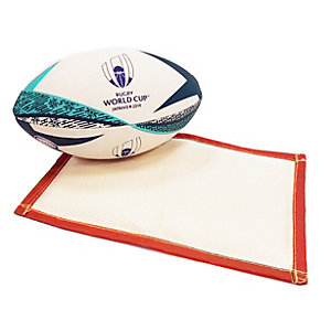 Rothenberger High Temperature Solder Mat with Free Licensed Rugby World Cup Ball (Medium, Assorted Colours)
