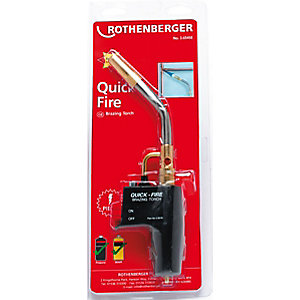 Rothenberger Quick Fire Piezo Soldering Torch 35645
