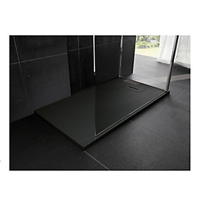 Novellini Novosolid 800 x 800mm Black Tray