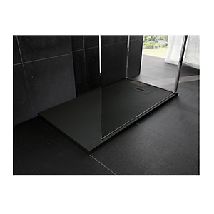 Novellini Novosolid 900 x 900mm Black Tray