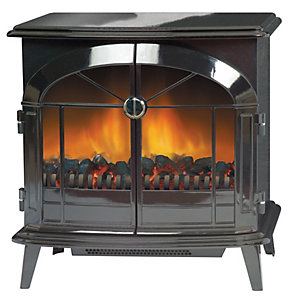 Dimplex Stockbridge 2kW Electric Stove - Black