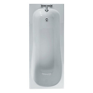 Ideal Standard Create 170x70cm Idealform Bath with No Tap Holes White