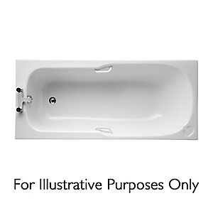 Ideal Standard Studio Straight Bath 1700x700mm No Tap Hole