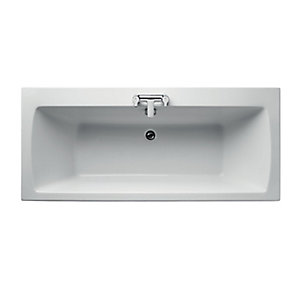 Ideal Standard Tempo Arc Double Ended Bath 1700x750mm No Tap Holes