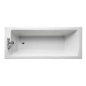 Ideal Standard Tempo Arc Single Ended Bath Water Saving 1700x700mm 2 Tap Holes