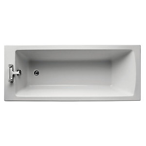 Ideal Standard Tempo Arc Straight Bath 1700x700mm No Tap Holes