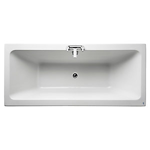 Ideal Standard Tempo Cube Double Ended Bath 1700x750mm No Tap Holes