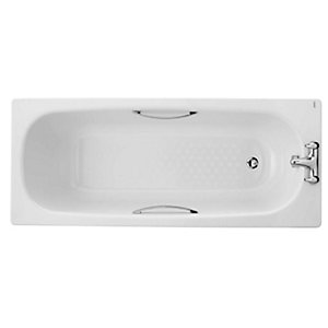 STEEL BATH 2TH 1700X750 INC LEGS & GRIPS