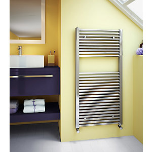 Stelrad Classic Towel Rail 1211 X 600 Mm Chrome Straight - 147005