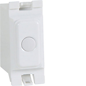 Hager Leading Edge Grid Dimmer Switch - WMGSD1L