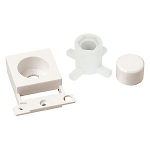 Minigrid MD150PW Dimmer Module Mounting Kit - Polar White
