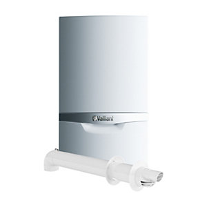 Vaillant ecoTEC plus 637 37kW System Boiler with Horizontal Flue Pack 10021835