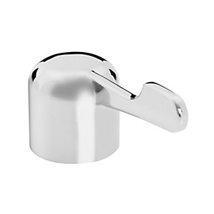 "Bristan Choices 3"" Hot &  Cold Lever Tap Heads Chrome"