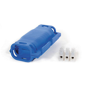 Wiska SH325W 6A Connector Cable Retention with 3 Core Terminal Block, Gel Insulated