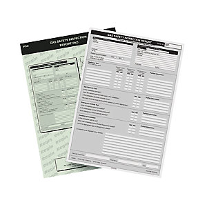Regin Safety Inspection Record Pad REGP50