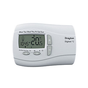 Drayton Digistat+2 24 Hour Programmable Thermostat 22084