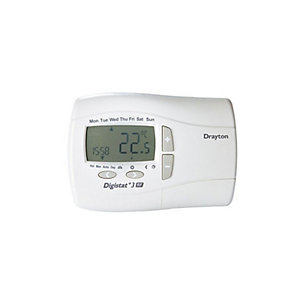 Drayton Digistat+3 7-Day Programmable Room Thermostat Mains 22087