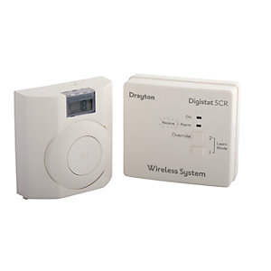 Drayton Digistat+ RF601 Digital Wireless Room Thermostat